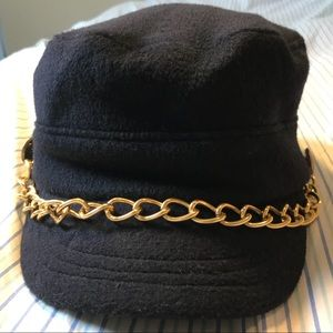 Accessories - Unique Chain Newsboy Hat